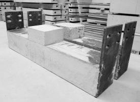 beton prefab aangestorte ligger